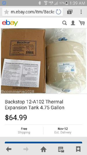 Backstop Expansion Tanks new $40 for Sale in Saint Louis, MO