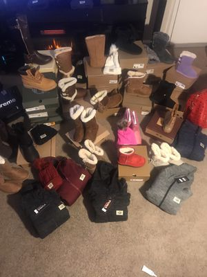 Royalty Presents women ugg boots, Sweatsuit men Timberland boots etc. for Sale in Oxon Hill, MD