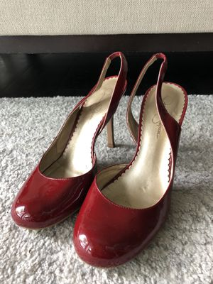 Jessica Simpson red heels for Sale in Chantilly, VA