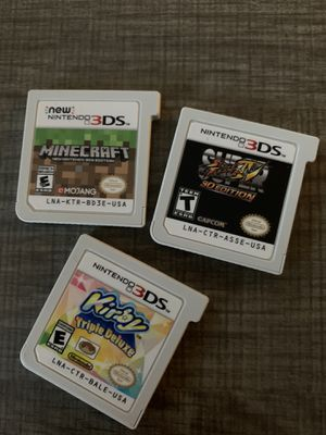 Nintendo 3DS Games for Sale in Seattle, WA
