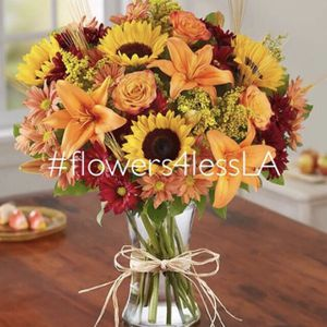 Thanksgiving Flower Arrangement for Sale in Los Angeles, CA
