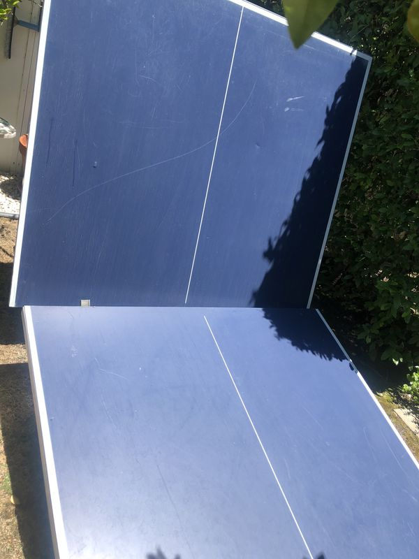 $85 - Stiga Ping Pong Table (Please Note: one leg is missing piece and can be replaced by customer service)