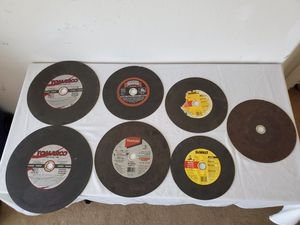 Cutting off discs. $20 for all. Pickup only, near to : 6105 S. Fort Apache Rd, 89148. for Sale in Las Vegas, NV