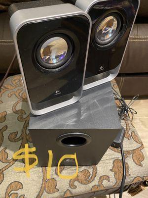 Logitech speakers for Sale in Garland, TX