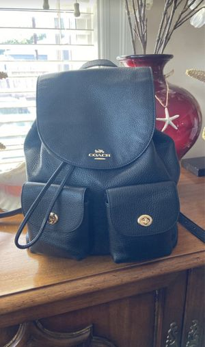 Coach pebbled leather backpack for Sale in Spring Valley, CA