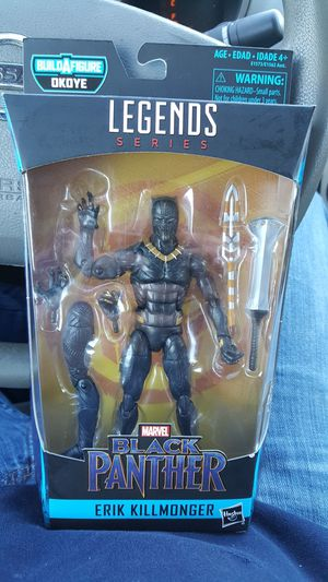 Marvel black panther action figure. for Sale in Charlotte, NC