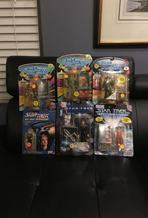 Star Trek The Next Generation Action Figures for Sale in Tampa, FL