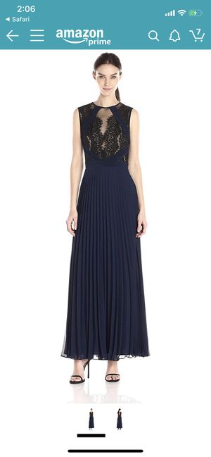 Xscape long lace illusion evening gown for Sale in Alexandria, VA