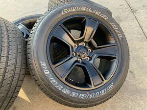 """20"""" Dodge Ram 1500 Black Wheels Sensors Tires Factory OEM Rims for Sale in Rio Linda, CA"""