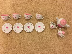Two sets of children's tea sets for Sale in Clarksburg, MD