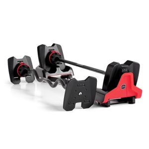 Bowflex SelectTech 2080 Barbell with Curl Bar for Sale in Houston, TX