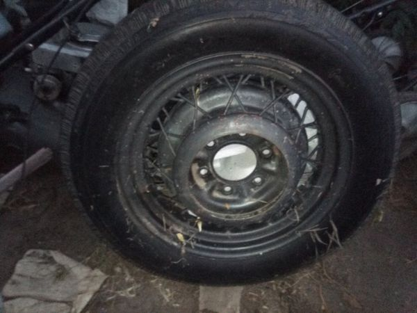 Old Antique Wheel Tire Poss Model A Old Ford In Good