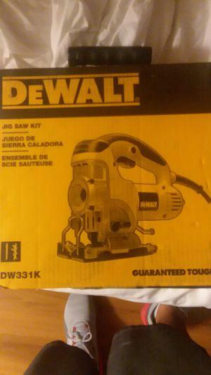 DeWalt jig saw kit for Sale in Fresno, CA