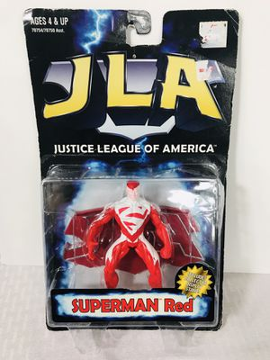 1998 Kenner JLA Superman Red for Sale in Providence, RI