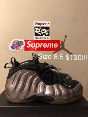 Pewter foams, Size 8.5 $130 for Sale in Hyattsville, MD
