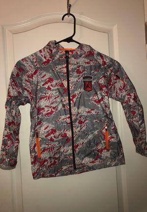 Nike Air Jordan size 7 Kids Youth Boy or Girl packable Rain Jacket Windbreaker Camouflage for Sale in Las Vegas, NV