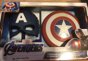 Marvel Captain America Action Armor Set for Sale in Riviera Beach, FL