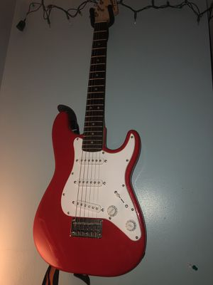 Squire Mini Electric Guitar with amp and case for Sale in Capitol Heights, MD