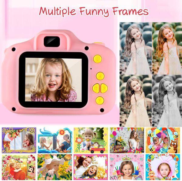 "Kids Camera Children Digital Cameras Toy 1080P 2.0"" HD Toddler Video Recorder Shockproof Great Gifts"