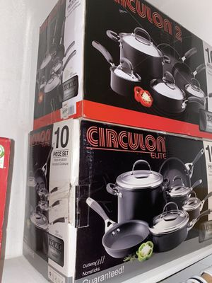 Circulon Cookware 10 piece set (new) for Sale in Moreno Valley, CA