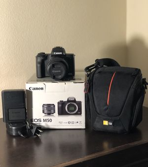 Canon EOS M50 for Sale in Lancaster, CA