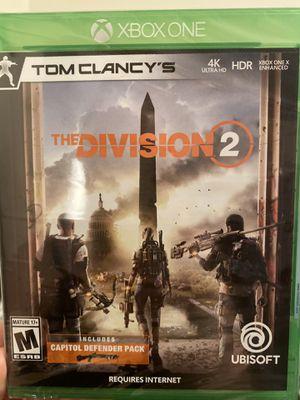 Xbox division 2 for Sale in Tamarac, FL