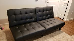 Couch chaise lounger futon sofa for Sale in Austin, TX