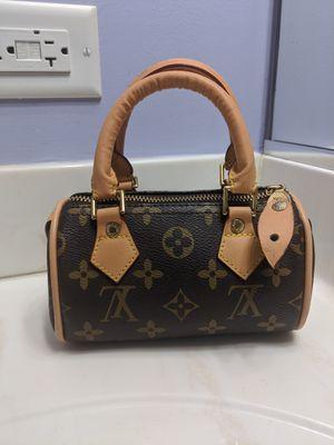 Authentic LOUIS VUITTON Speedy Mini Monogram Boston Hand Bag Purse #35491 for Sale in MONTGMRY, IL
