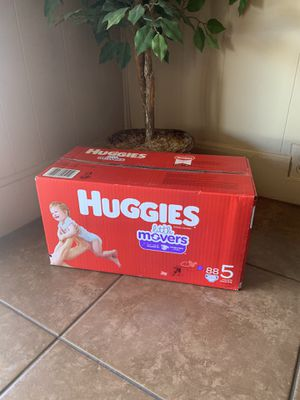Huggies size 5 for Sale in Phoenix, AZ