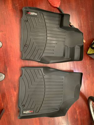 Weather tech mats for Honda ridgeline 2014 Front driver and passenger side for Sale in Baltimore, MD