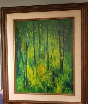 Oil on Canvas by Jarvis for Sale in Woodside, CA