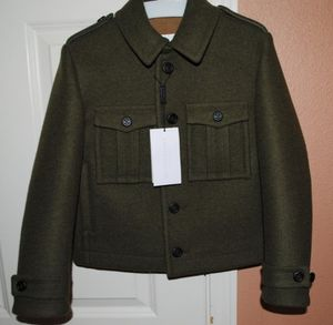 Burberry Olive Military Boys Coat👦 for Sale in Federal Way, WA