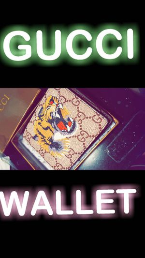 9d8225378e9 GUCCI Mens wallet brand new with box for Sale in Merced