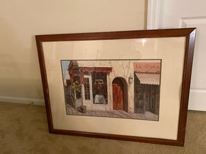 Bistro painting for Sale in Durham, NC