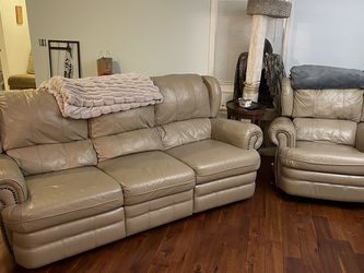 Wall Hugger Couch and Rocking Recliner for Sale in Framingham,  MA