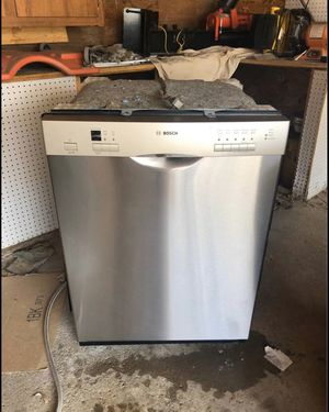 Stainless steel Bosch dishwasher for Sale in Parma Heights, OH