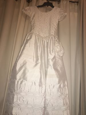 First Communion Dress Size 12 for Sale in Houston, TX