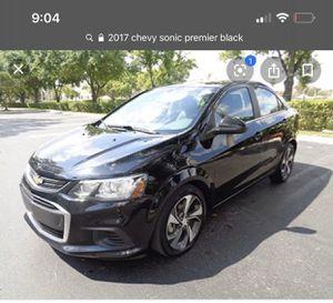 2017 Chevy sonic premier for parts 700 obo for Sale in Rialto, CA