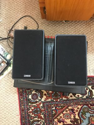Micca speakers. Will include copper wire if you want. for Sale in San Ramon, CA