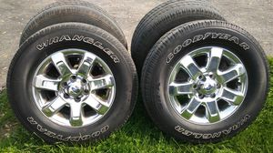 """Ford rims and 18"""" tires for Sale in Lockport, IL"""
