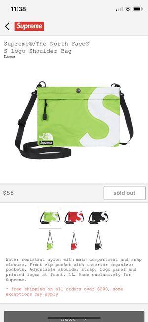Supreme NORTH FACE shoulderbag for Sale in Fort Lauderdale, FL