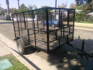 Utility trailer 5x8x4 tittle in hand for Sale in City of Industry, CA