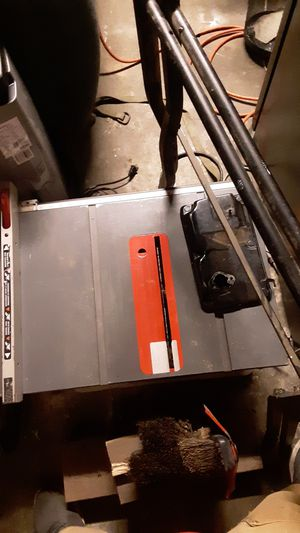 Table saw porter cable price is 80 for Sale in BETHEL, WA