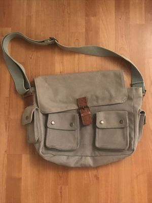 Canvas Utility Messenger Bag Strong Durable for Sale in North Miami Beach, FL