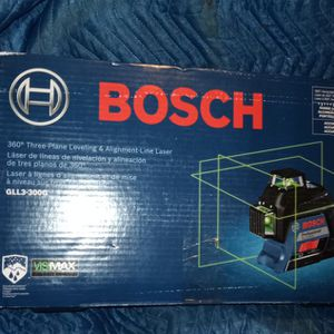 Bosch Gll3-300g Lazer Level Alignment Tool for Sale in Surprise, AZ
