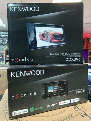 Kenwood ddx396 double DIN stereo DVD receiver with Bluetooth on sale today for only 199 for Sale in Downey, CA