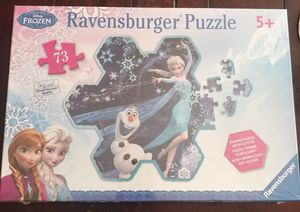 DISNEY'S FROZEN RAVENSBURGER 73 PIECE PUZZLE (SEE OTHER POSTS) for Sale in El Cajon, CA