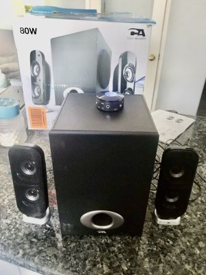 Powered Subwoofer Speaker System 80W for Sale in Moreno Valley, CA