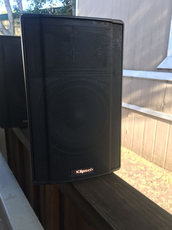"klipsch speaker 7"" wide and 10"" tall"