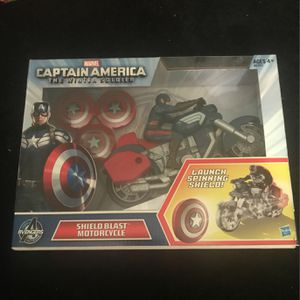 Captain America Shield Blast Motorcycle $10 Brand New for Sale in La Puente, CA